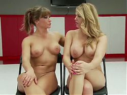 Carissa Montgomery and ariel topless talk