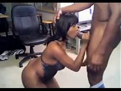 MILF Ebony Perfect Blowjob - negrofloripa