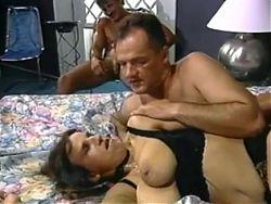 Andrea in a hot threesome #2