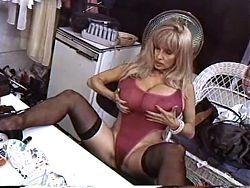 Joyce Gibson busty blonde milf