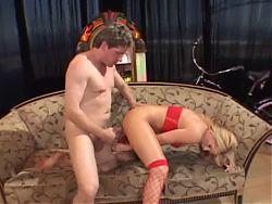 Hot big tits MILF bitch pussy anal fuck