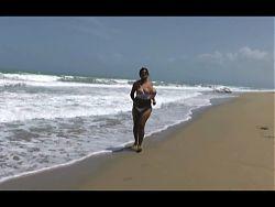 Kristina running