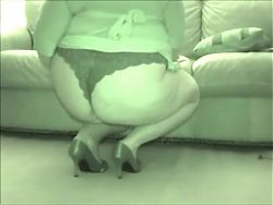 Fat BBW leg teasing