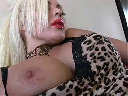 Sexy blonde MILF