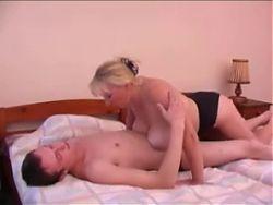 Big Tit Blonde Milf Fucked